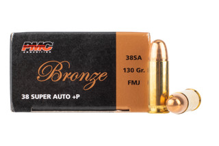 PMC Bronze .38 Super +P