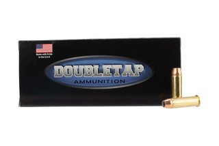 Doubletap Ammunition controlled expansion .38 Special 110gr jacketed hollow point ammo in 20-round boxes.