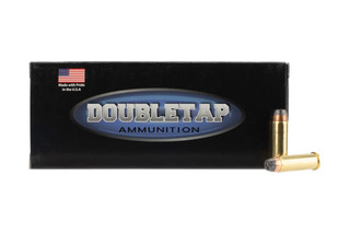 Doubletap Ammunition controlled expansion .38 Special +P 125gr jacketed hollow point ammo in 20-round boxes.