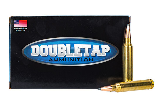 Doubletap 300 Win Mag ammo is designed for long range shooting