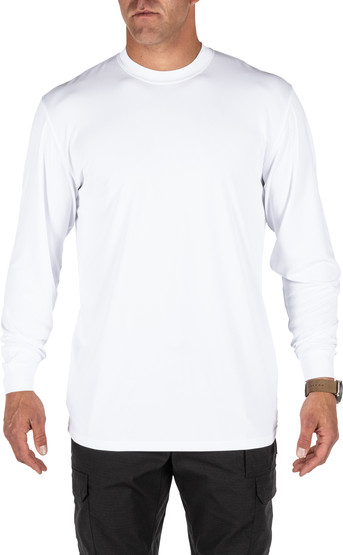 5.11 Tactical Performance Utili-T 2-Pack Long Sleeve Shirt in White