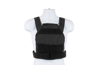 High Speed Gear Slick Plate Carrier is an accessory ready, modern, and lightweight option for medium plates in black.