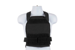 High Speed Gear Slick Plate Carrier is an accessory ready, modern, and lightweight option for large plates in black.