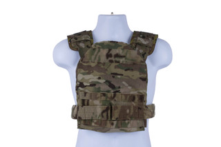 High Speed Gear Slick Plate Carrier is an accessory ready, modern, and lightweight option for large plates in MultiCam.