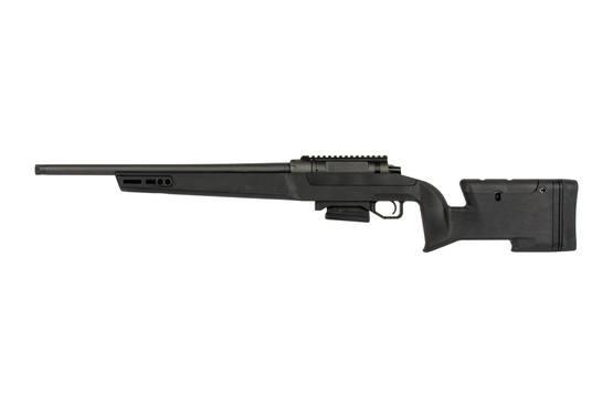 The Daniel Defense Delta 5 .308 rifle is compatible with AICS short action magazines