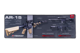 TekMat 42in door mat featuring a 2nd Amendment dye sublimated graphic.