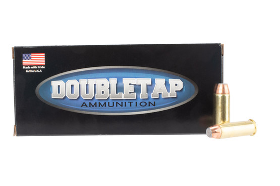 DoubleTap Ammuniition Controlled Expansion .44 Magnum ammo with 240gr jacketed hollow point in boxes of 20.