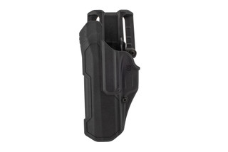Blackhawk T-Series L2 Duty NL Left Hand Holster Fits SIG Sauer P320/250 in Black features Polymer material