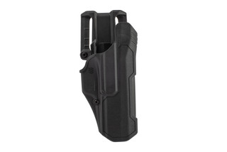 Blackhawk T-Series L2 Duty NL Right Hand Holster Fits SIG Sauer P320/250 in Black features Polymer material