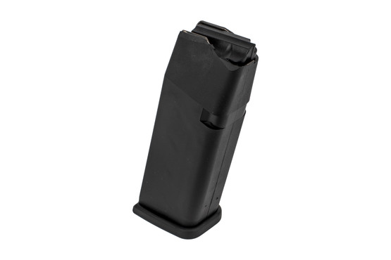 The CMMG Banshee MkG 45 acp pistol comes with a 13 round Glock magazine