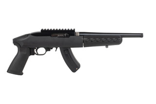 Ruger 1022 charger takedown pistol features a 10 inch barrel