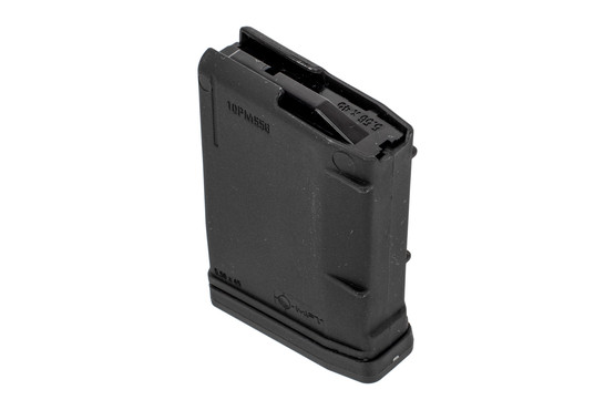 Mission First Tactical 5 round AR15 magazine features a four way anti rotation follower