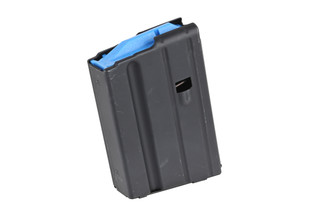 The Ammunition Storage Components 6.5 Grendel Magazine with 5 round capacity features a blue follower