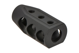 Timber Creek Outdoors 2-port Heart Breaker muzzle brake for .50 Beowulf caliber rifles with 49/64x20 barrel threading