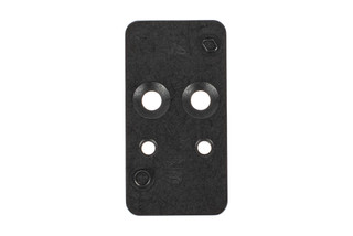 Heckler and Koch VP9 red dot mounting plate 4 is designed for the Leupold DeltaPoint Pro