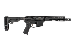 The Bravo Company Manufacturing Recce-9 .300 BLK AR Pistol features an SBA3 arm brace