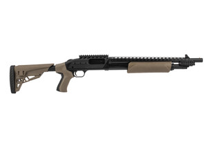 Mossberg 500 Scorpion 12 gauge shotgun in flat dark earth
