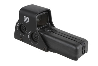 The EOTech 512-0 Holographic Weapon Sight is a tactical red dot sight that will attach to ar15 picatinny rails