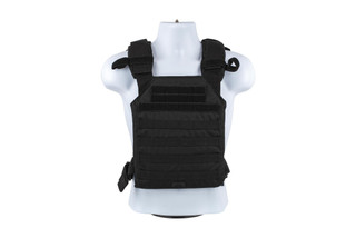 The Red Rock Outdoor Gear Black MOLLE Armor Carrier is designed for SAPI 11x14 plates