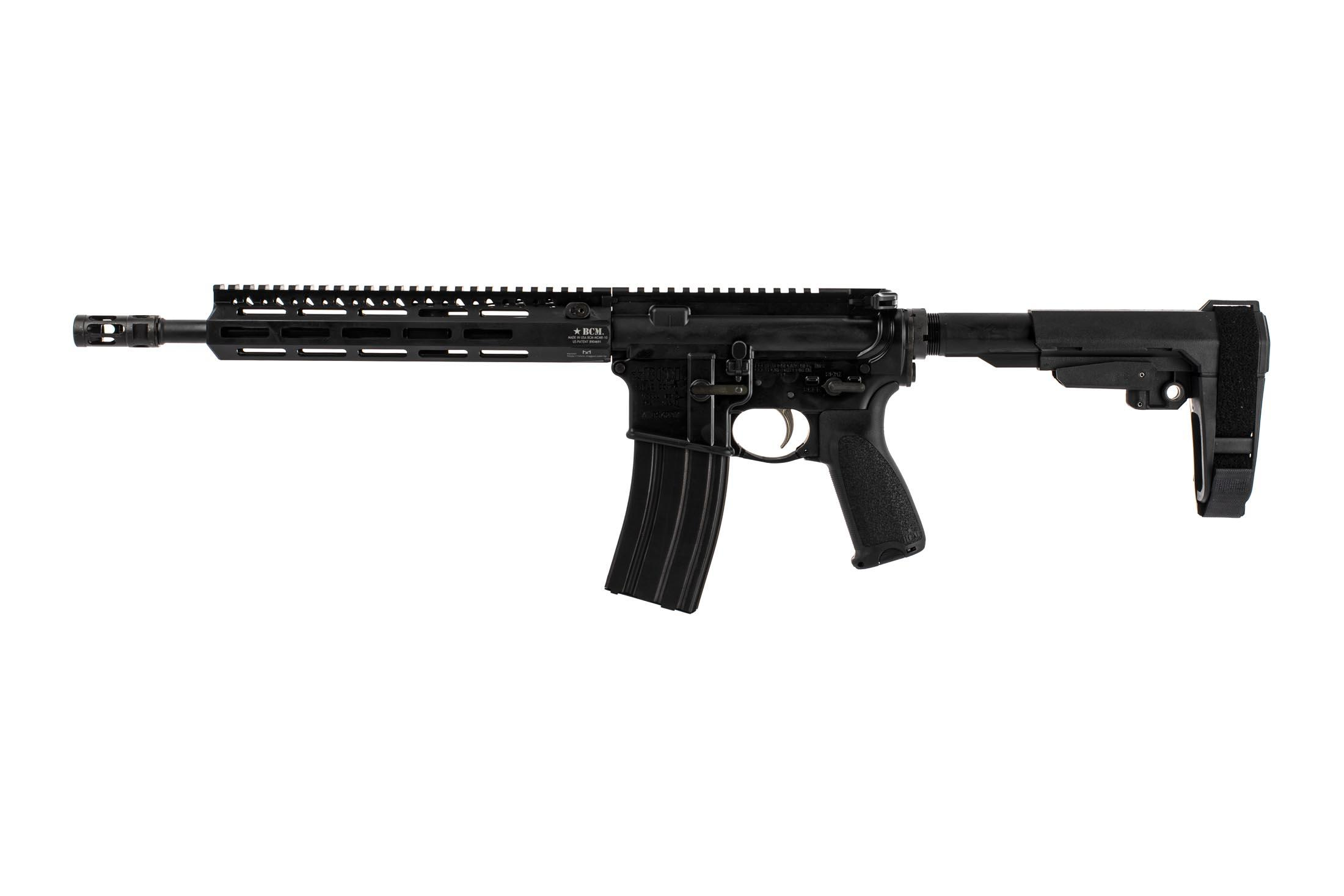 Bravo Company Manufacturing 12.5 RECCE-12 M-LOK rifle with pistol gas system and BCM PNT trigger