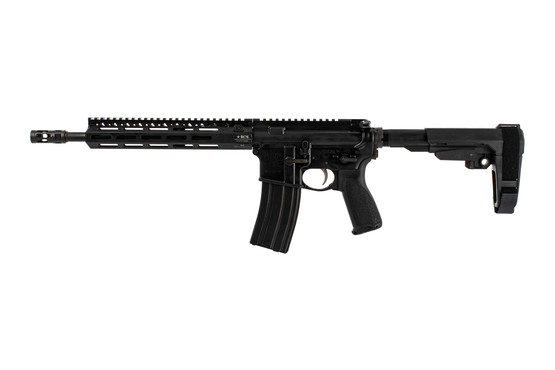 "Bravo Company Manufacturing 12.5"" RECCE-12 M-LOK rifle with pistol gas system and BCM PNT trigger"