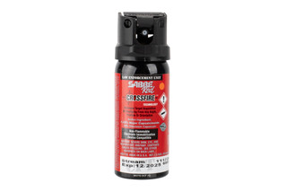 Sabre Red Crossfire Pepper spray mk3 features a 1.8 oz. stream