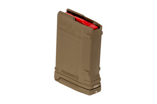 Amend2 10 round AR15 magazine Mod 2 features a flat dark earth polymer construction