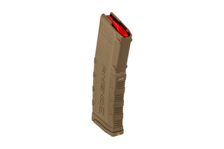 Amend2 30 round magazine Mod 2 flat dark earth features a polymer construction