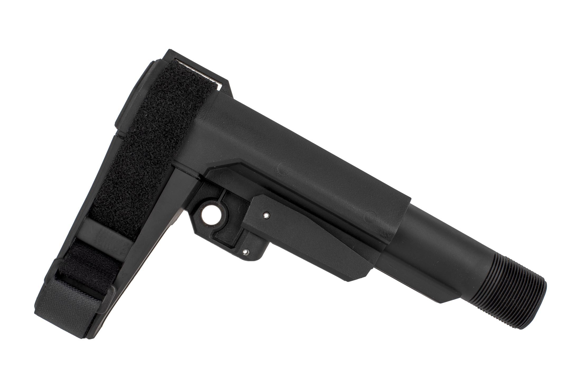 The CMMG RipBrace kit CQB features 5 positions of length adjustment for a compact pistol