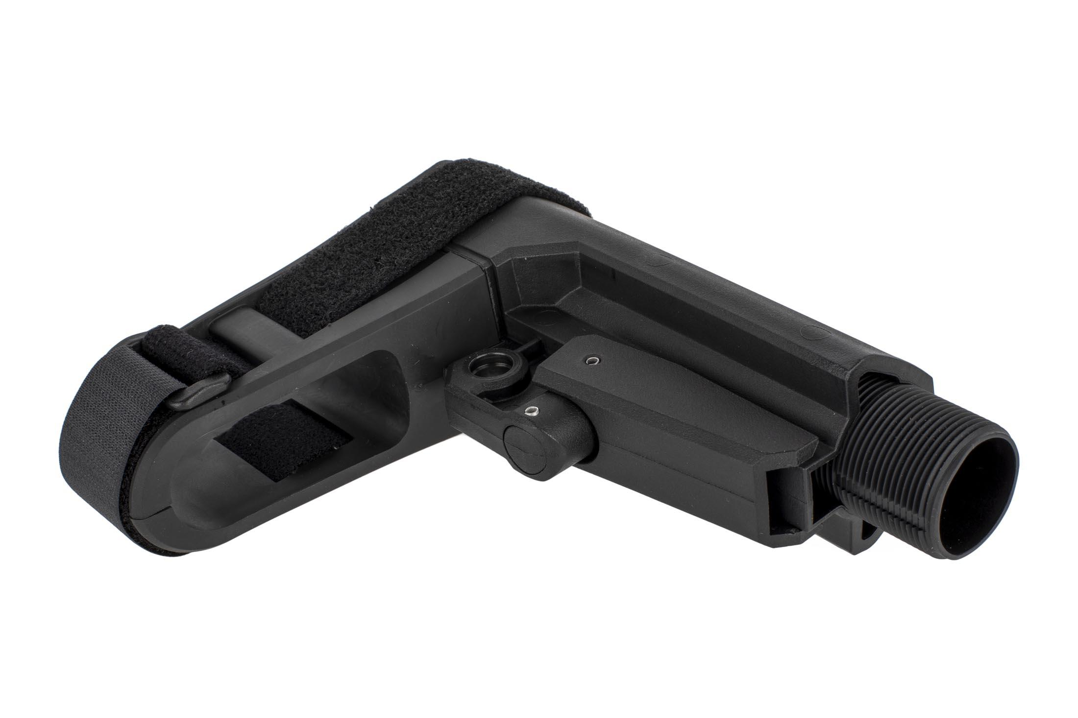 The CMMG RipBrace stock kit comes with an aluminum buffer tube