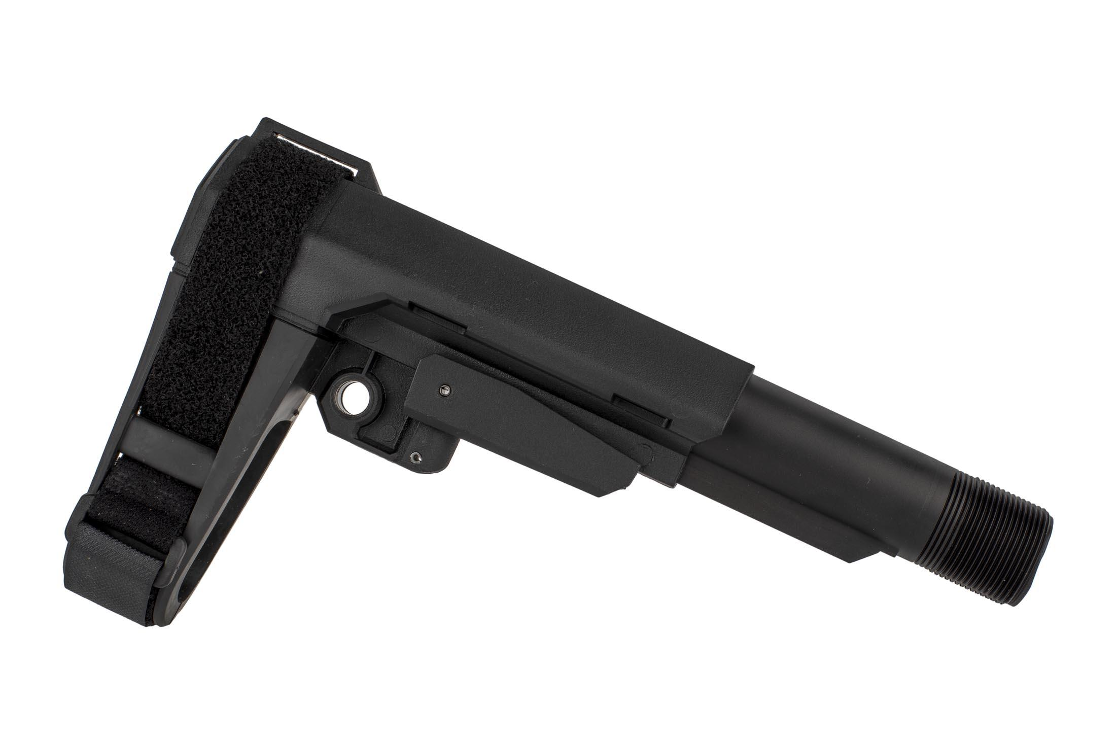The CMMG RipBrace Kit is made from rigid polymer and comes with a standard carbine length buffer tube