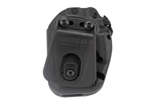 Safariland 571 GLS Slim Pro-Fit Holster features the STX plain black finish