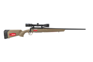 Savage Axis II XP 308 bolt action rifle with flat dark earth stock