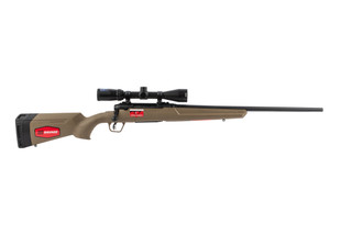 Savage Arms Axis II 6.5 creedmoor bolt action rifle with fde stock