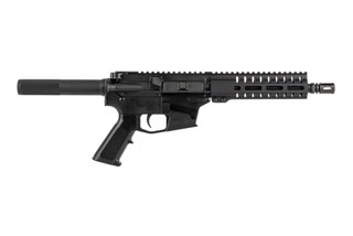 The CMMG Mk57 Banshee AR pistol is chambered in 5.7x28mm with an 8 inch barrel