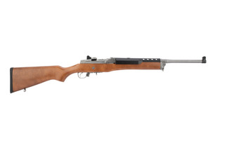 Ruger Mini 30 762x39 rifle features a stainless steel receiver