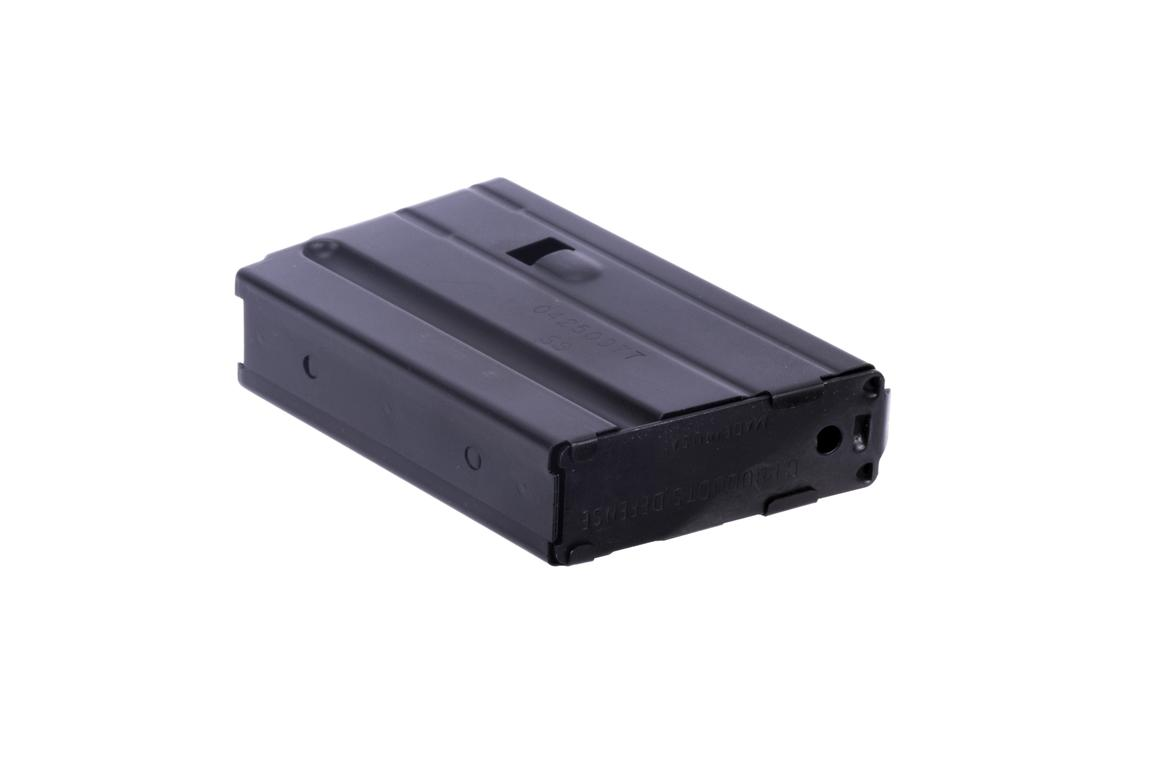 The C Products 6.8 5 round magazine has a removeable floor plate