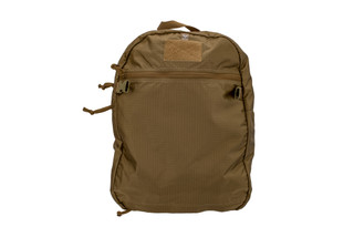 The Grey Ghost Gear Turnout Pack Coyote Brown is designed to hold a plate carrier