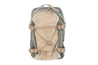 Grey Ghost Gear Throwback Backpack comes in od green and tan
