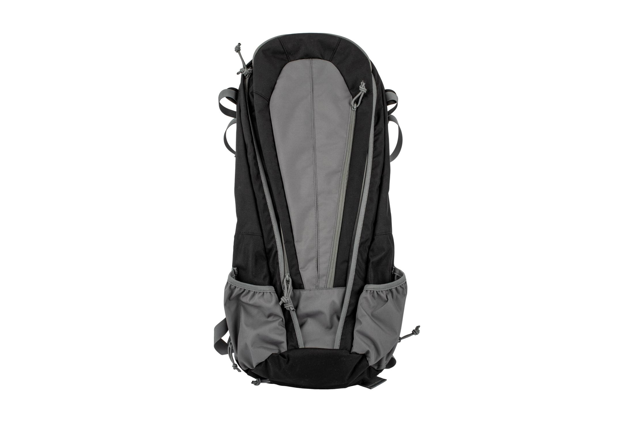 The Grey Ghost Gear Apparition SBR Bag features a grey and black color and made from durable material