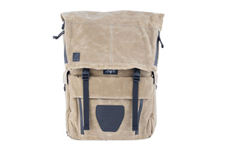 Grey Ghost Gear Gypsy Pack is made from waxed canvas material