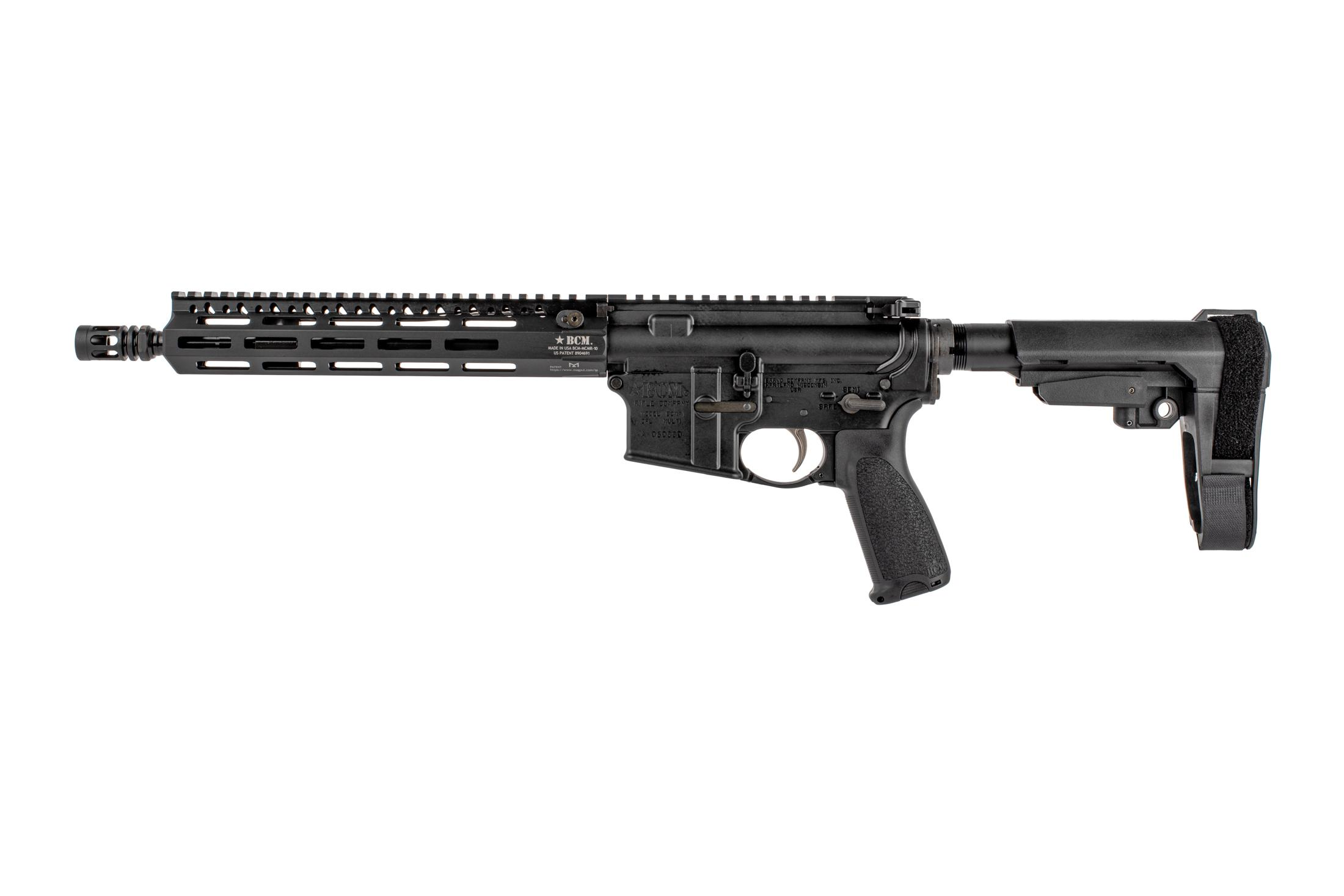 The Bravo Company USA Recce AR Pistol features an 11 inch barrel