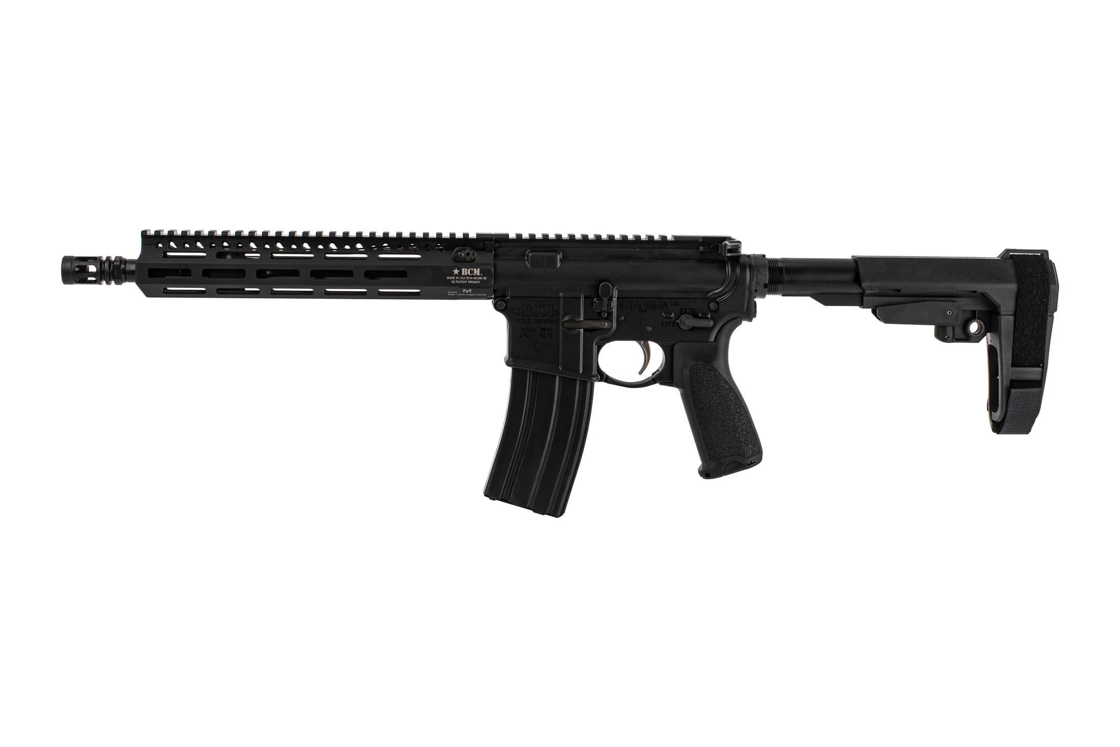 Bravo Company Manufacturing 11.5 RECCE-11 M-LOK rifle with carbine gas system and BCM PNT trigger