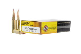 The Black Hills Ammunition 6.5 Creedmoor 143 grain ELD-X bullet is designed for hunting with exceptional expansion