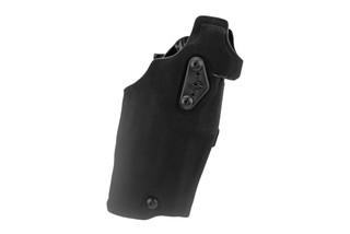 Safariland Glock G19 Holster 6354DO features a black Cordura Nylon finish