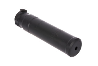 The Advanced Armament Corp SR5 5.56 Suppressor comes with a 3 prong flash hider with quick detach mount