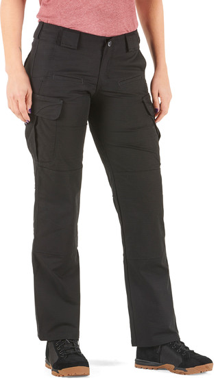 5.11 Women's Tactical Stryke Pant in Black with articulated knees