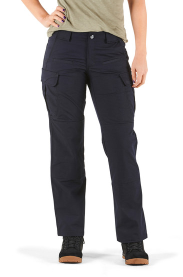 5.11 Women's Tactical Stryke Pant in Dark Navy with articulated knees
