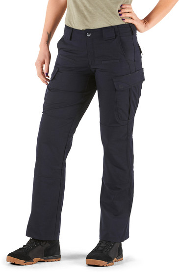 5.11 Women's Tactical Stryke Pant in Dark Navy with cargo pockets