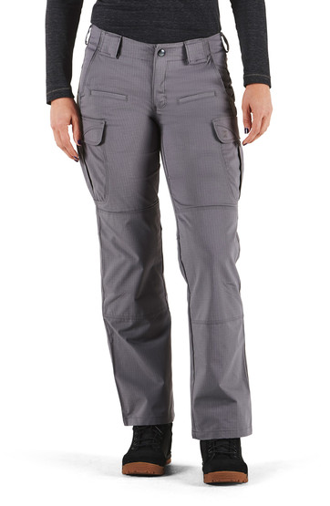 5.11 Women's Tactical Stryke Pant in Storm with articulated knees